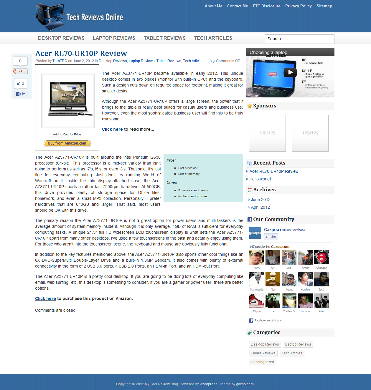 Ultimate Product Review System Review – Product Review Template